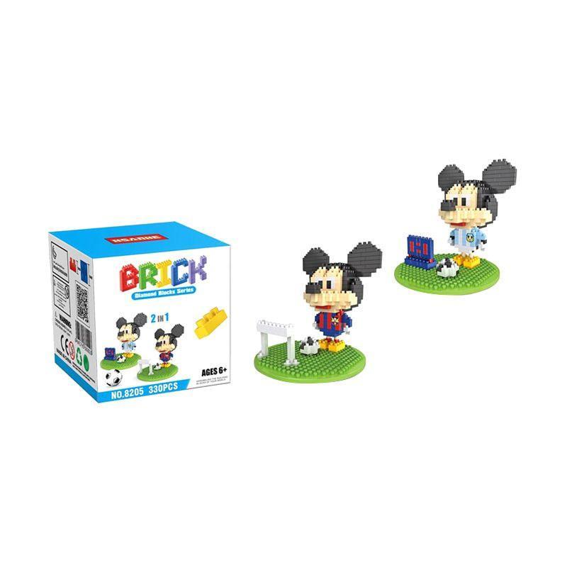 HSANHE 8205 Football Costu Mainan Blok & Puzzle