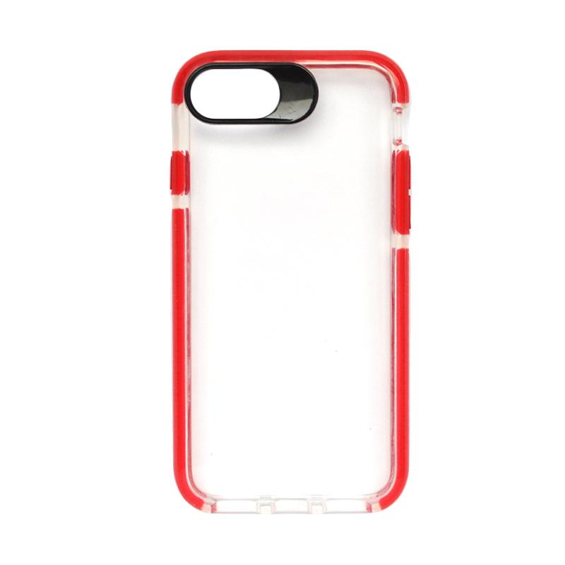 SMILE Big Eye Softcase Casing for iPhone 8 - Red