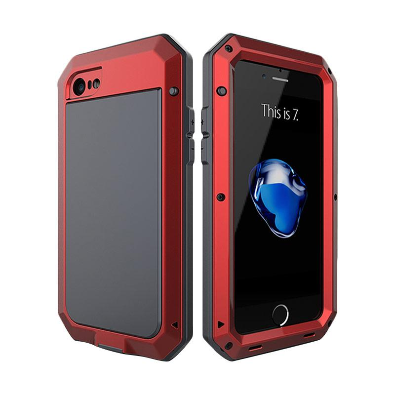 Lunatik Luxury Metal Armor Shockproof and Waterproof Casing for iPhone 6 Plus - Red