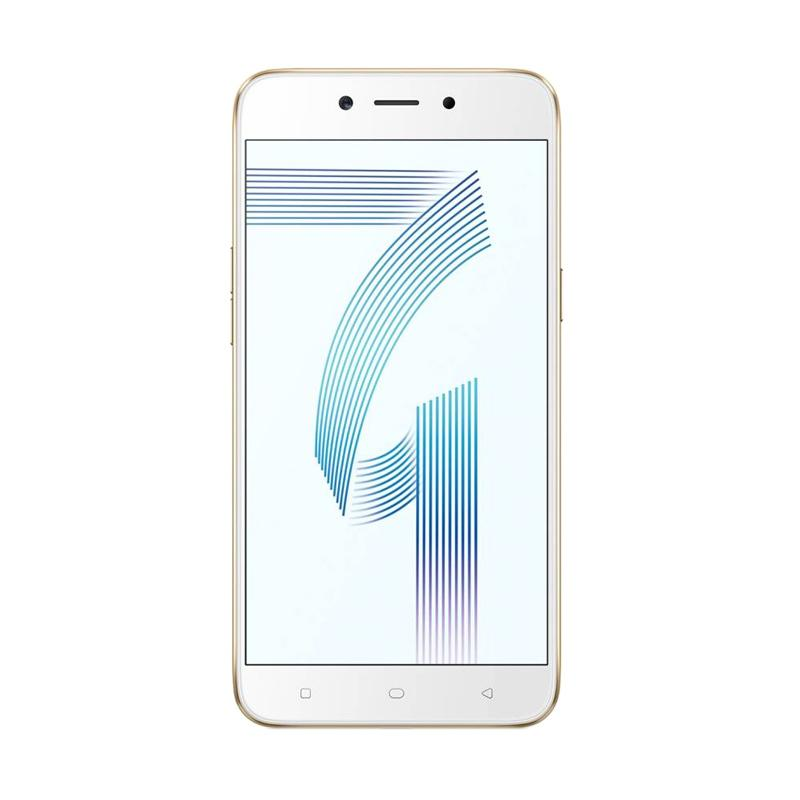 OPPO A71 Smartphone - Gold [2 GB/ 16 GB/ Android 7.1 Nougat]