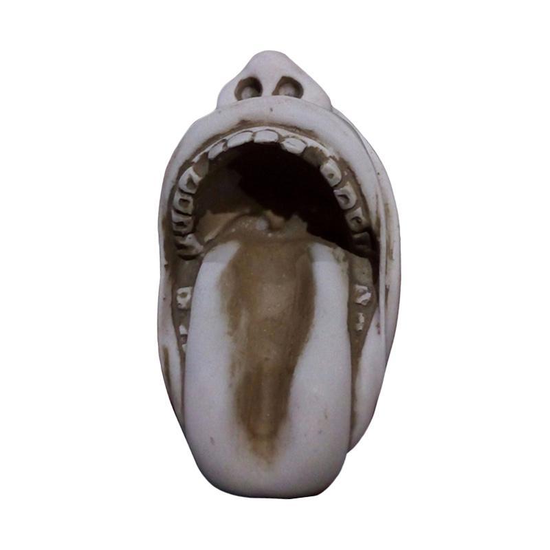 Jogjakhas Bentuk Mulut Asbak Rokok Ukir