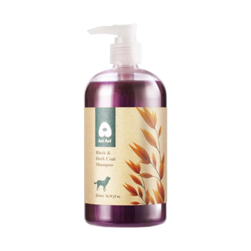 Arf Arf Natural Sesame Oatmeal Dog Cat Shampoo for Black & Dark Coat