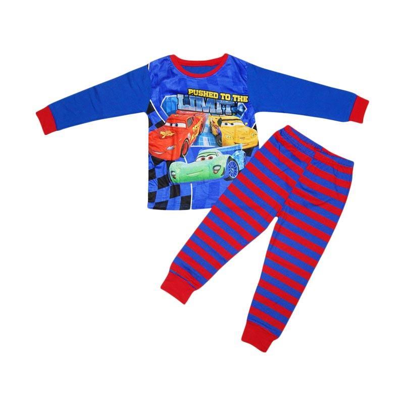 Junior Wardrobe Cars Setelan Piyama Anak Laki-laki