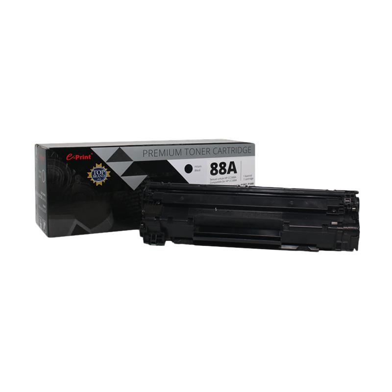 E-Print CC388A Premium Toner Cartridge - Black Metalic