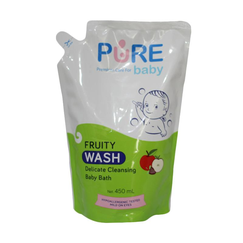 Pure Baby Fruity Wash Baby Bath Refill [450 mL]