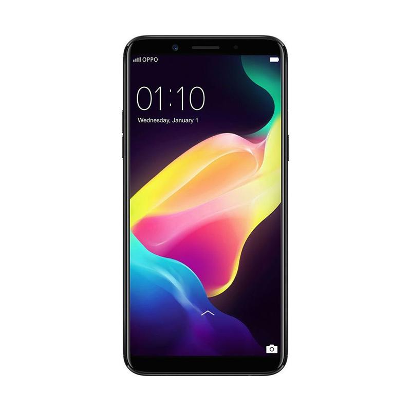 Oppo F5 Smartphone - Black [64GB/6GB]