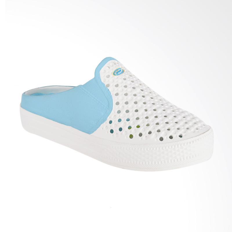 NOEL Polos Slip On Sandal - Biru