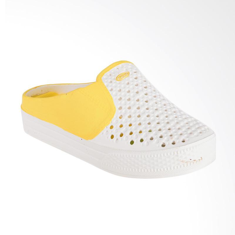 NOEL Polos Slip On Sandal - Kuning