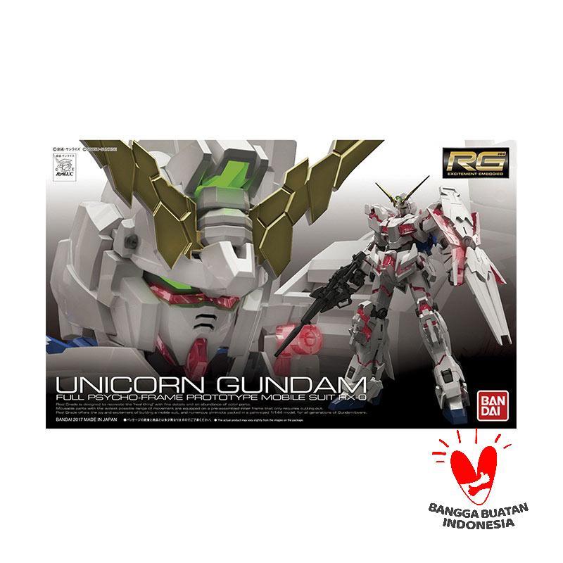 Bandai RG RX-0 Unicorn Gundam Model Kit [1 : 144]