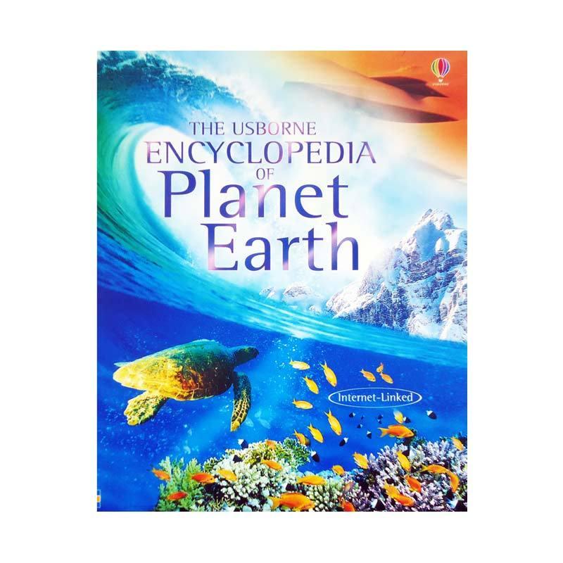 Genius The Usborne Enclyclopedia of Planet Earth Buku Edukasi