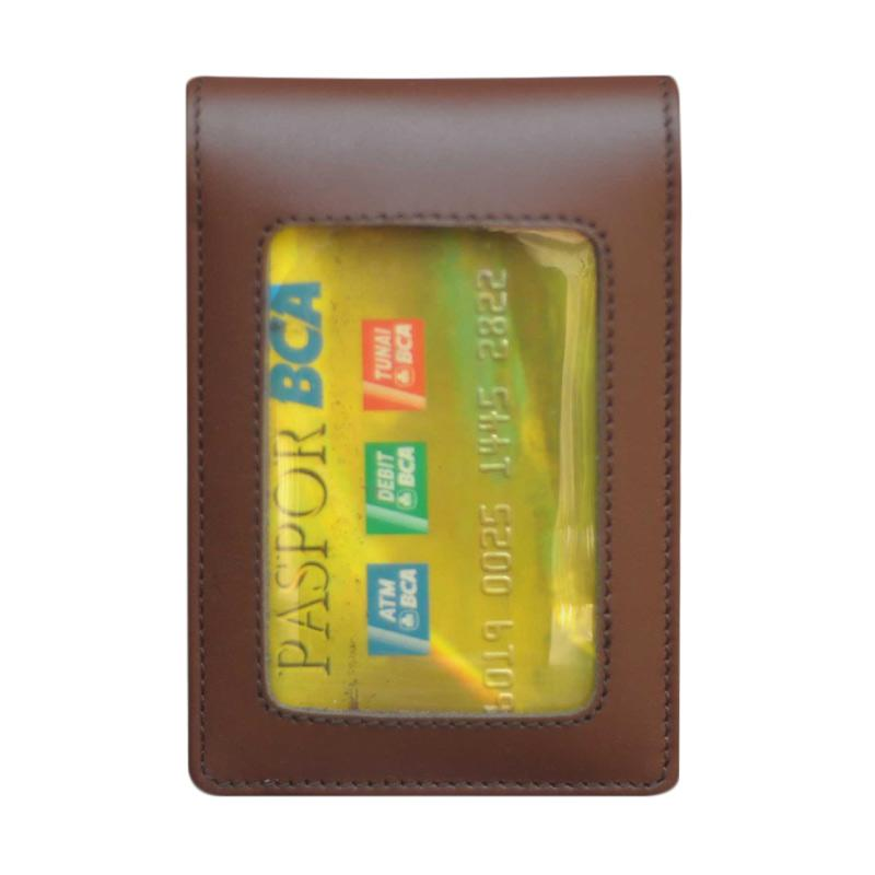 harga Leather Castle Name Tag Id Card Holder Blibli.com