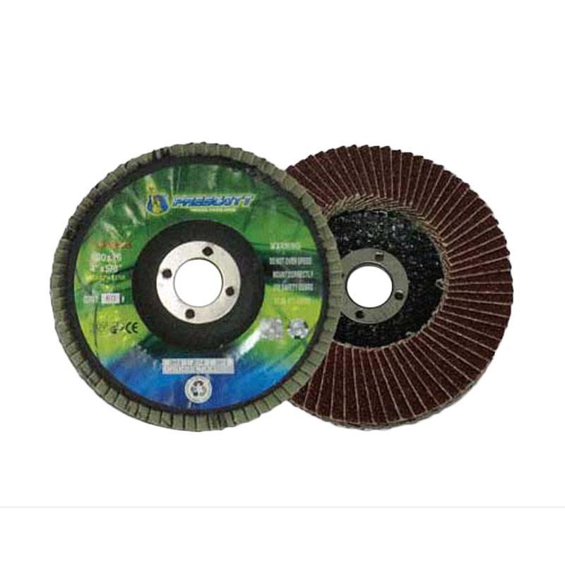 Prescott Flap Disc Amplas Tumpuk [4 Inch/Grit 80/3 pcs]