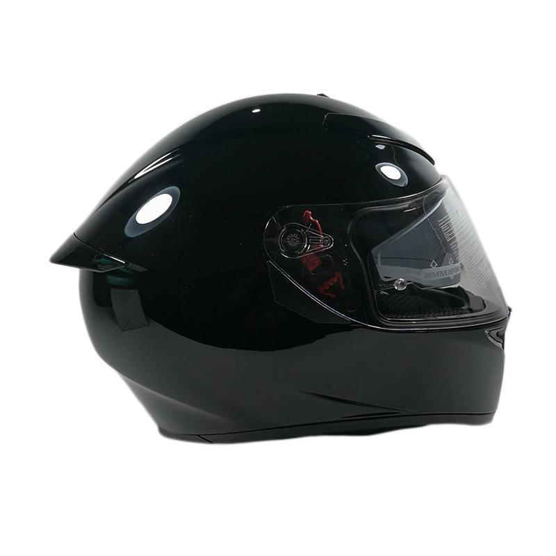 Jual Agv K3 Sv Solid Double Visor Helm Full Face Black Online Maret 2021 Blibli