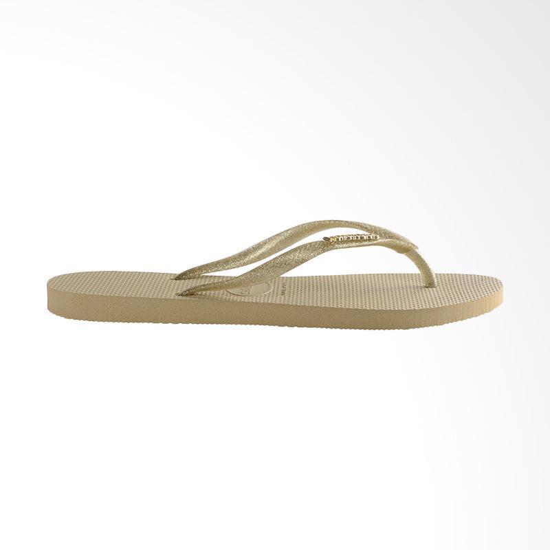 Jual Havaianas 2719 Slim Logo Metallic Sandal Flip Flop Wanita