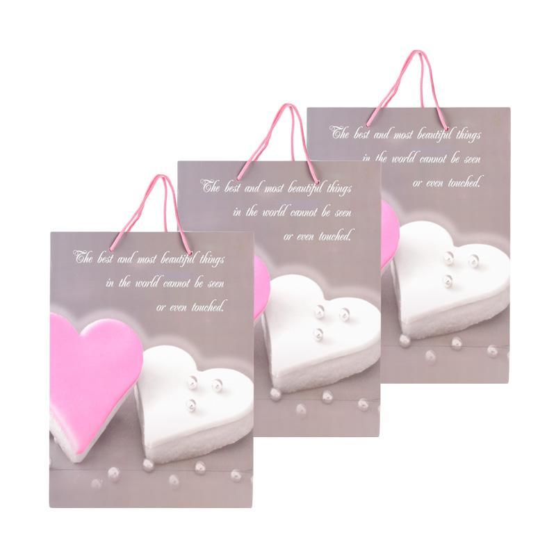 Karisma 742387 Kemeja Love Mutiara Shopping Bag [3 pcs]
