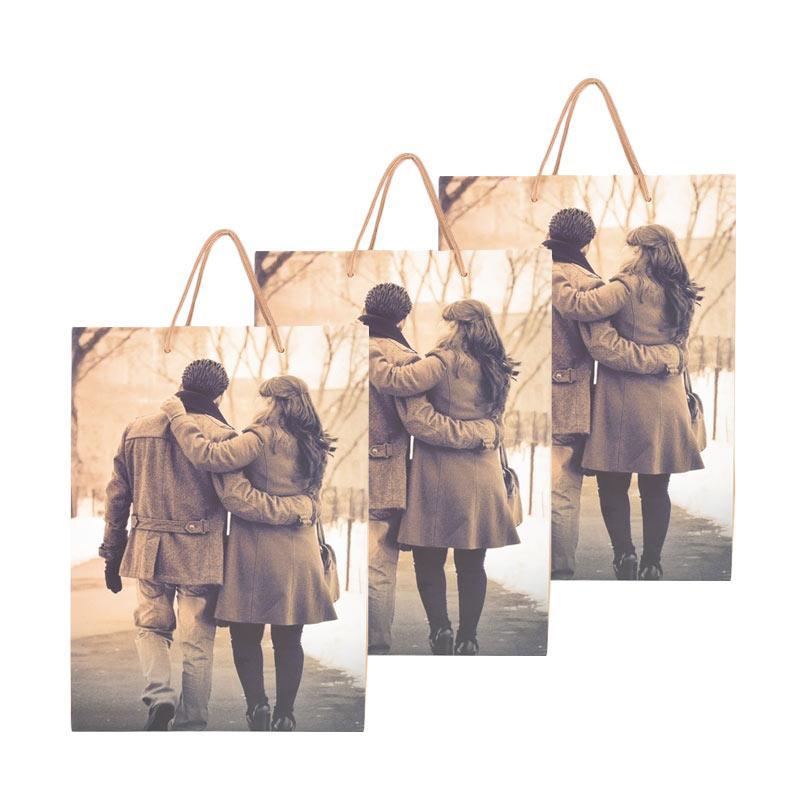 Karisma 742397 Kemeja Sepasang Kekasih Shopping Bag [3 pcs]