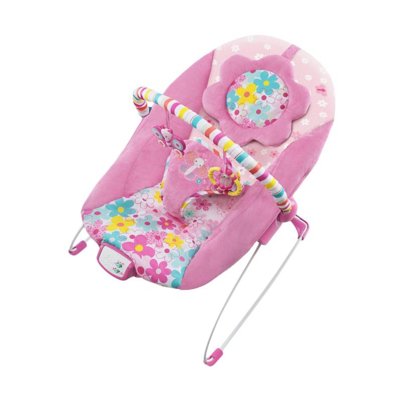 Bright Starts Butterfly Music & Vibrate Bouncer