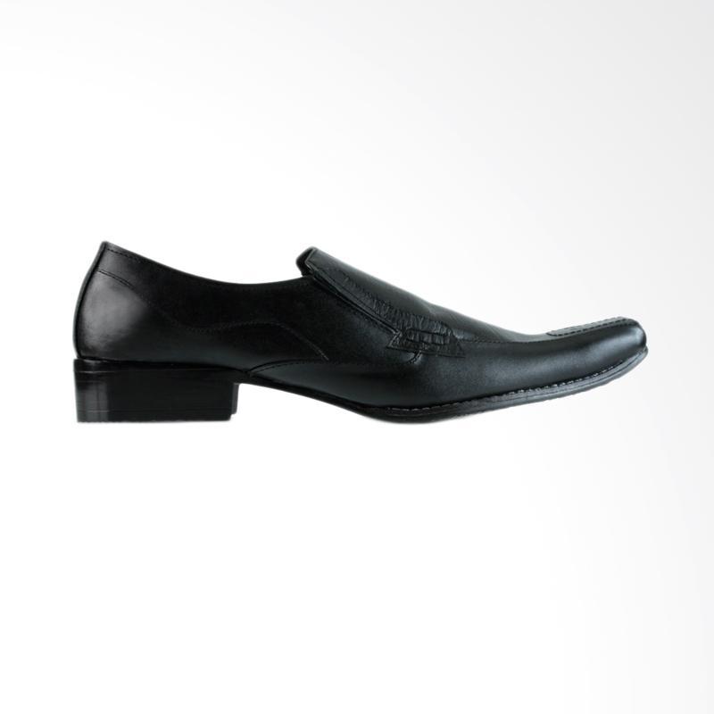 Golfer 7 Sepatu Formal Pria - Black