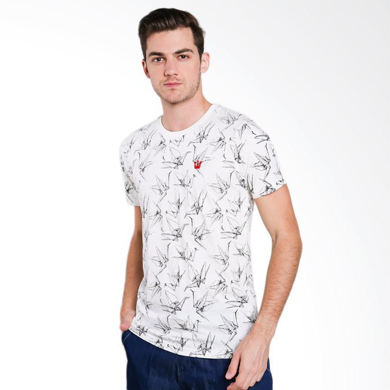3SECOND 0612 Men T-shirt - Cream [T06121712]