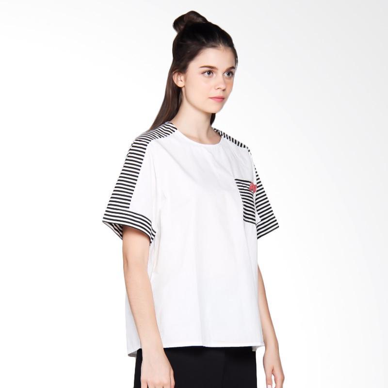 Jfashion Korean Style Plain Shirt Long SLeeve Ummi Source Miss .