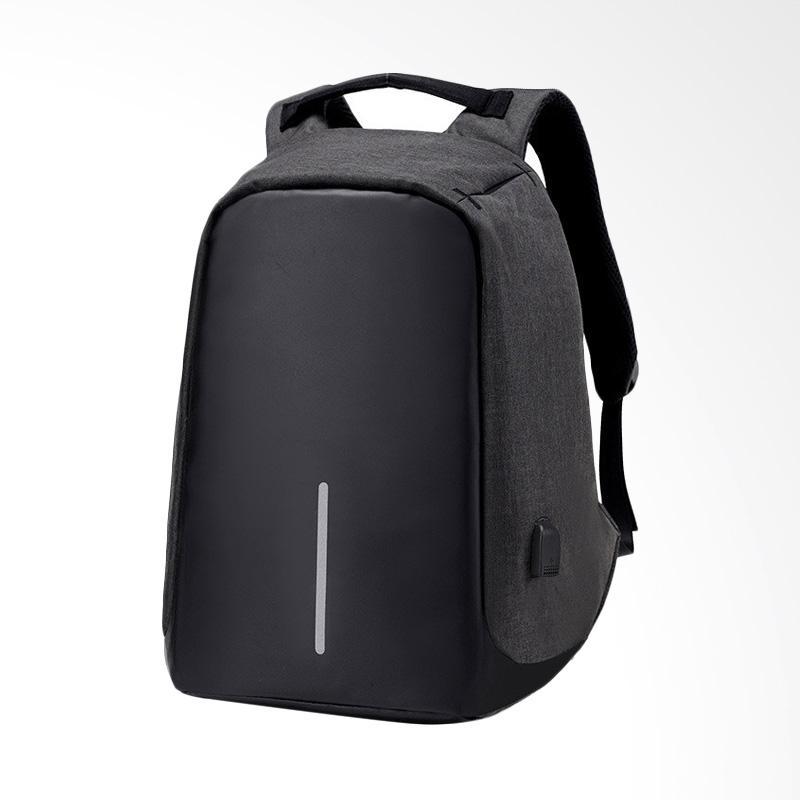 Tas anti maling ransel laptop anti air anti Theft BackPack USB Source · OEM Waterproof Anti