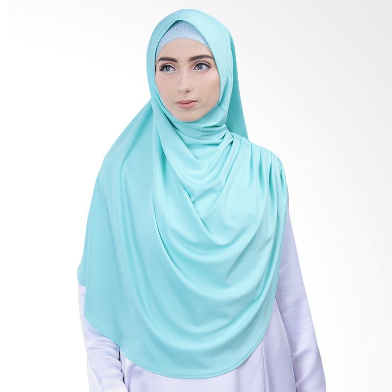 Cantik Kerudung Nazwa Hijab Instant - Mint Green No.8