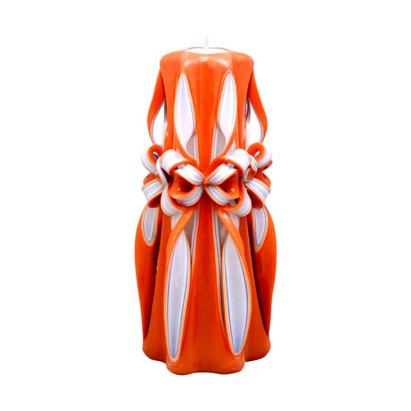 Lilin Ukir 10 Inch / Homemade dan Organik Wax / Oranjeapple