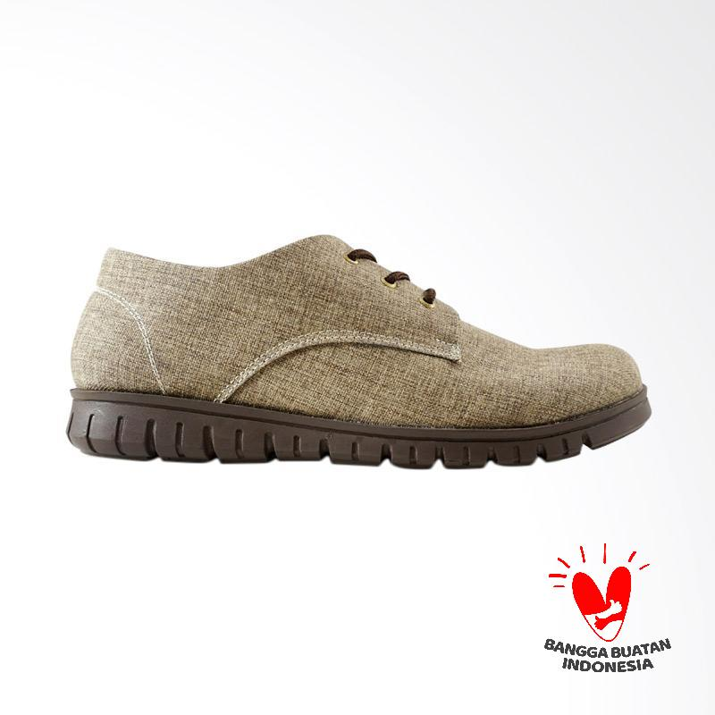 Dane And Dine Sneakers Keren Terbaru KREYA - COFFEE