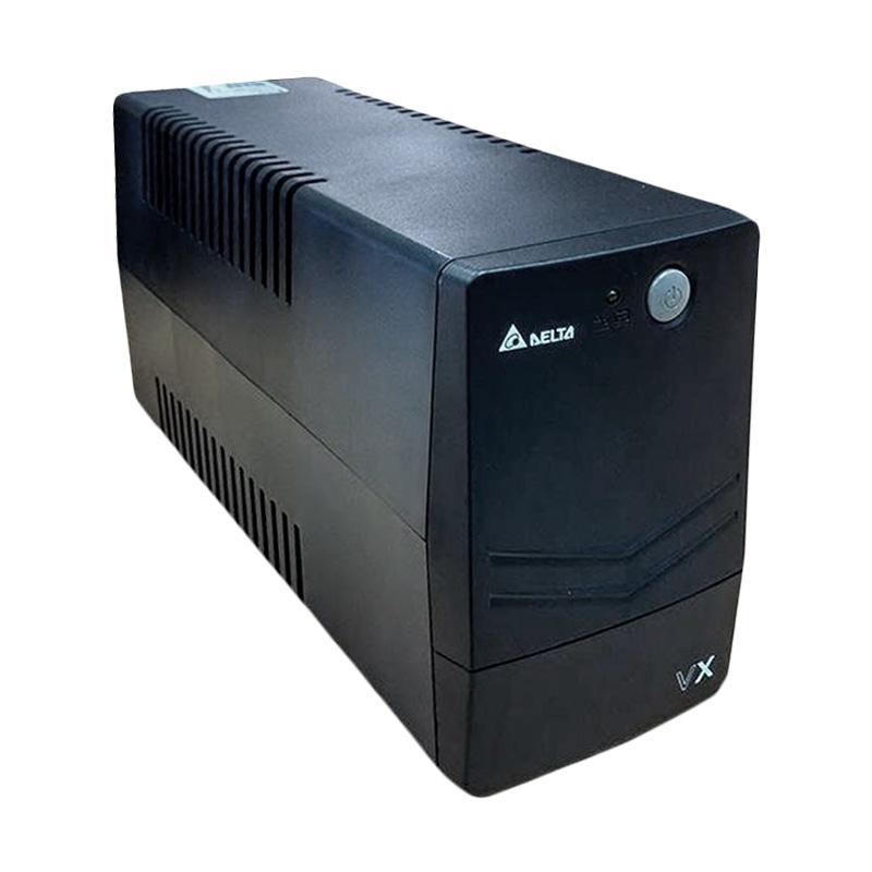 Delta VX Series 600VA Line Interactive UPS - Hitam [360 W]