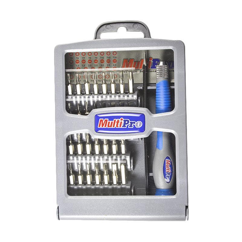 Multipro 13070101030 30 in 1 Precision Screwdriver Set
