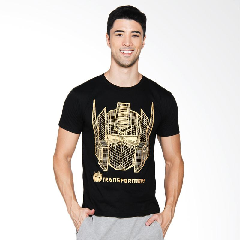 NOG Transformer Optimus Prime T-Shirt Unisex - Gold