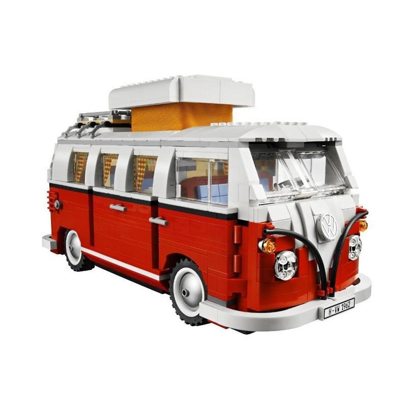 Vw Camper Van >> Lepin 21001 Vw Camper Van Mainan Blok Puzzle