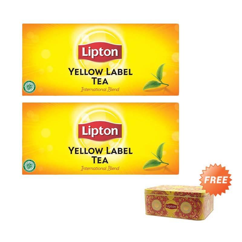 Lipton Envelope Yellow Label