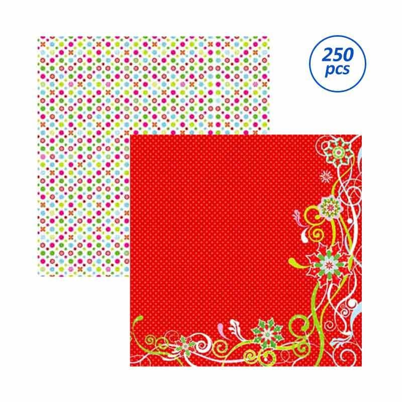 SP141 Christmas Magic Scrapbooking Paper - [25 Sheets/bungkus /10 bungkus/package]