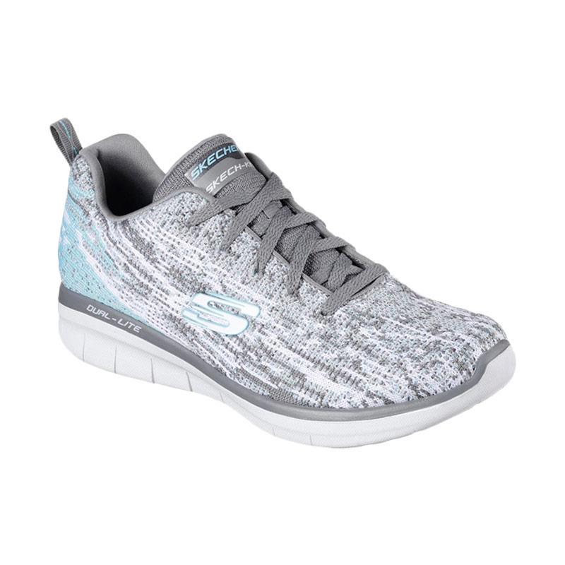 Skechers Sport Synergy Sepatu Lari Wanita - Grey [12383GYW]