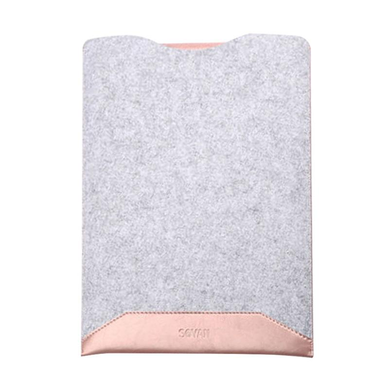 New Microfiber Sofcase Sleeve Case for Macbook 12 Inch - Pink
