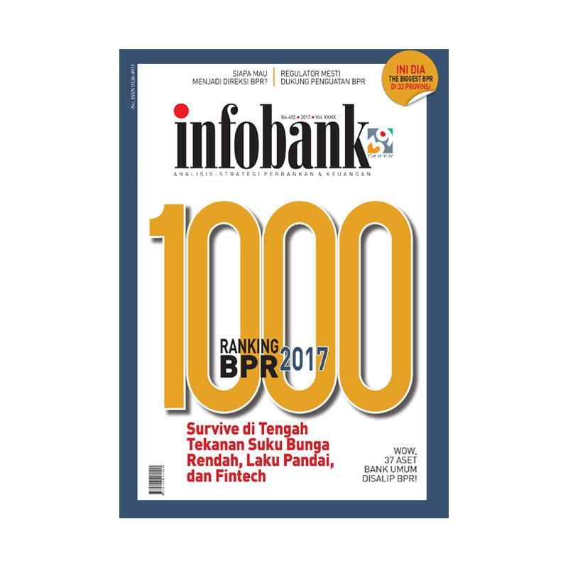 Infobank Edisi Khusus 1000 Ranking BPR 2017 Majalah Bisnis
