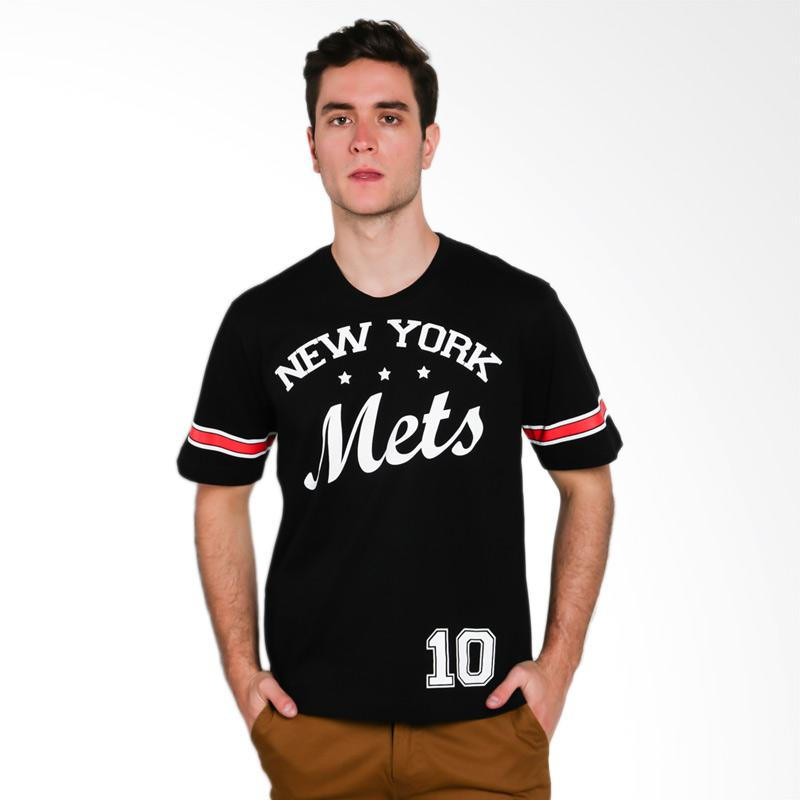 Hypestore New York Mets Men T-Shirt - Black [3557-2063]