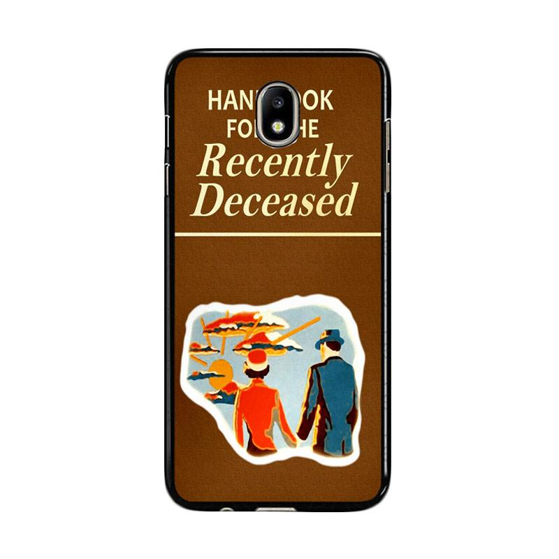 Flazzstore Beetlejuice Handbook For The Recently Deceased F0309 Custom Casing for Samsung Galaxy J7 Pro 2017