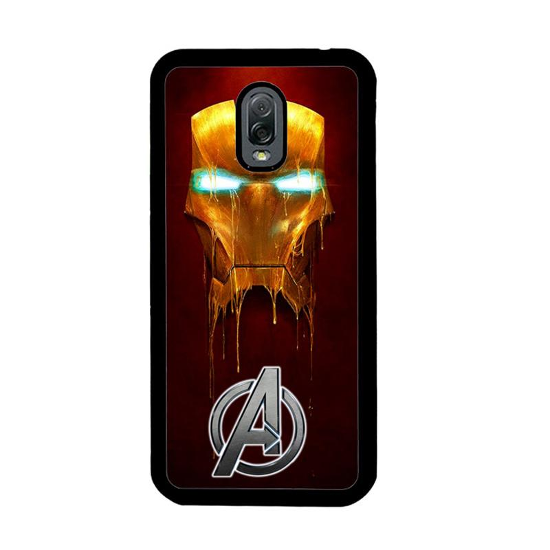 Flazzstore Ironman The Avengers Painting Z0262 Custom Casing for Samsung Galaxy J7 Plus