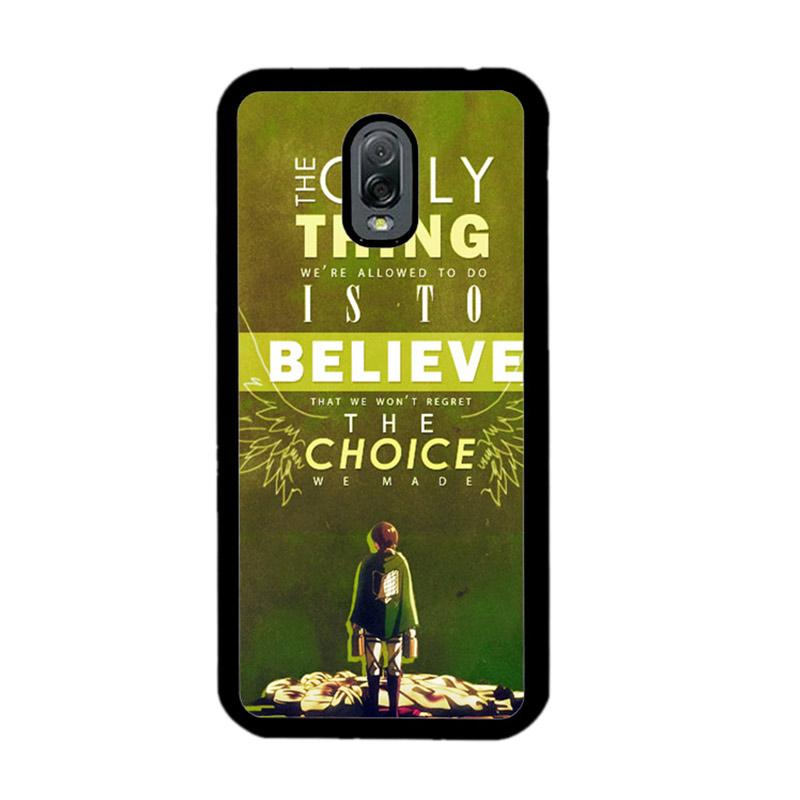 Flazzstore Attack On Titan Quotes Z1091 Custom Casing for Samsung Galaxy J7 Plus