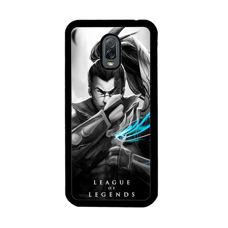 Flazzstore League Of Legends Yasuo Z1270 Custom Casing for Samsung Galaxy J7 Plus