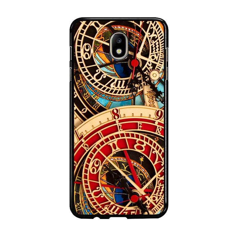 Flazzstore Astronomical Clock Vintage Classic F0332 Custom Casing for Samsung Galaxy J7 Pro 2017