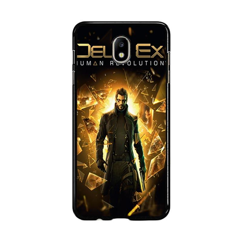 Flazzstore Deus Ex Human Revolution F0854 Custom Casing for Samsung Galaxy J7 Pro 2017