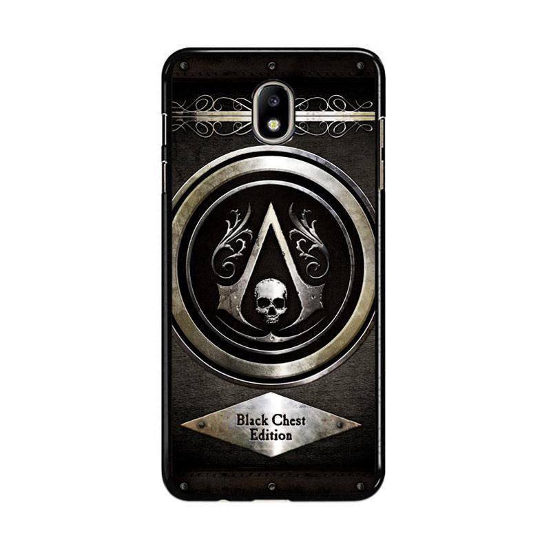 Flazzstore Assassins Creed Black Flag Logo Z0067 Custom Casing for Samsung Galaxy J7 Pro 2017