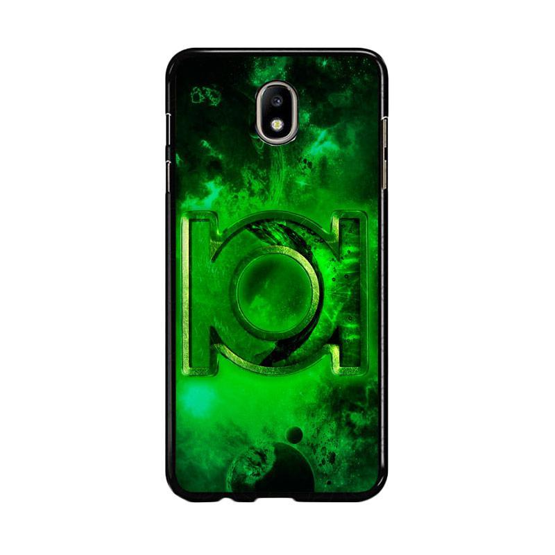 Flazzstore Green Lantern Symbol Z0137 Custom Casing for Samsung Galaxy J7 Pro 2017 - Green