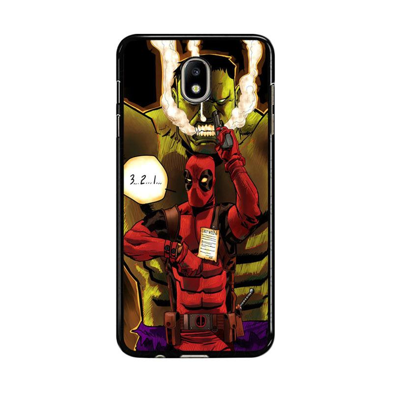 Flazzstore Deadpool The Hulk Z0164 Custom Casing for Samsung Galaxy J7 Pro 2017