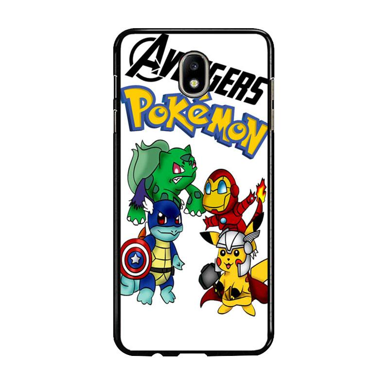 Flazzstore Pokemon Avengers Z0036 Custom Casing for Samsung Galaxy J5 Pro 2017 - White