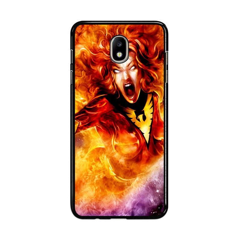 Flazzstore Dark Phoenix Z0250 Custom Casing for Samsung Galaxy J7 Pro 2017