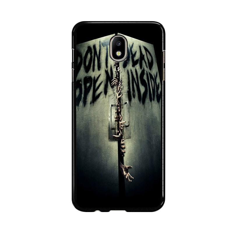 Flazzstore Open Dead Inside Zombie Z0146 Custom Casing for Samsung Galaxy J5 Pro 2017